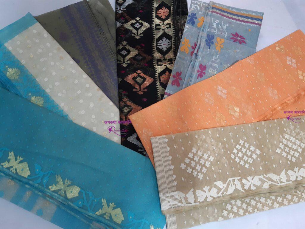 buy jamdani from online